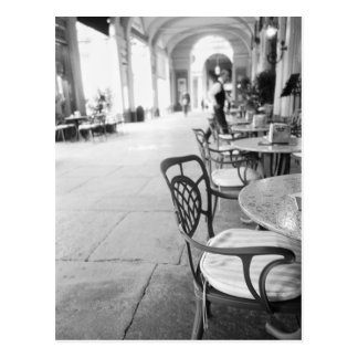 Turin Italien, Café und Torbogen Postkarten