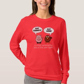 Türkei- u. Schinken-Shirt - wählen Sie Art u. T-Shirt
