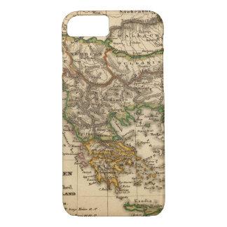 Türkei- und Griechenland-Karte iPhone 8/7 Hülle