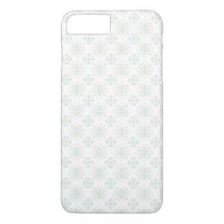 Türkis-barocker königlicher Damast iPhone 8 Plus/7 Plus Hülle