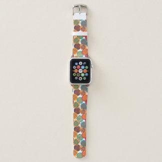Türkis des gelben Grüns des Herbstes verlässt Apple Watch Armband