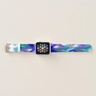 Türkis-Flamme Apple Watch Armband