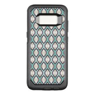 Türkis-Marokkaner-Muster OtterBox Commuter Samsung Galaxy S8 Hülle