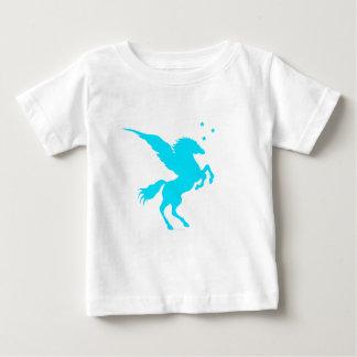 Türkis Pegasus Baby T-shirt