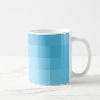 Türkis-Pixel-Tasse Kaffeetasse