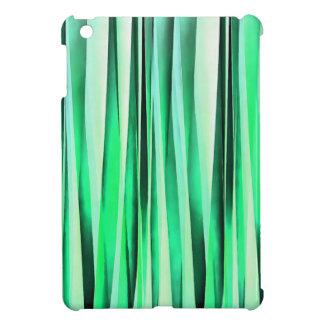 Türkis-Ruhe-Stripy Muster iPad Mini Hülle