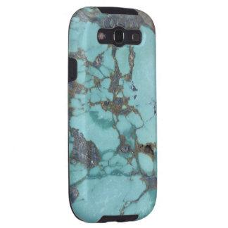Türkis Samsung rufen Fall an Galaxy S3 Hülle