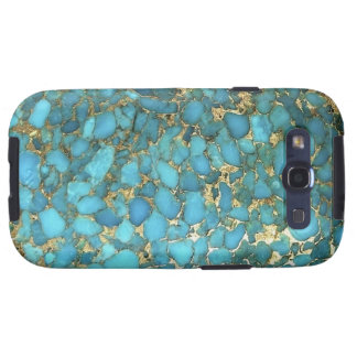 """Türkis Samsung rufen Fall "" an Samsung Galaxy S3 Etuis"