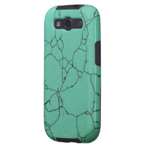 """Türkis Samsung rufen Fall "" an Galaxy SIII Etuis"