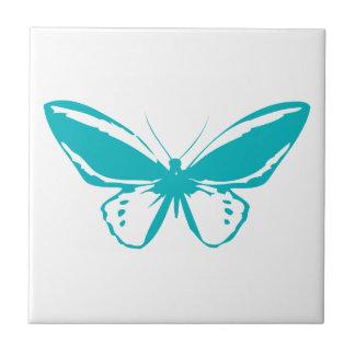 Türkis-Schmetterling Fliese