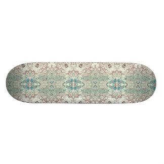 Türkis-und Kupfer-Mischung Bedruckte Skateboarddecks