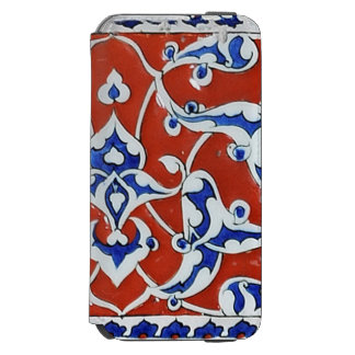 Türkische Blumenfliesen Incipio Watson™ iPhone 6 Geldbörsen Hülle