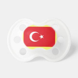 Türkische Flagge Schnuller
