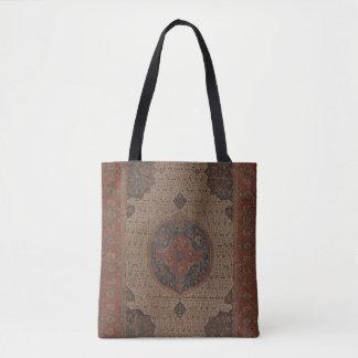 Türkische Ushak Medaillon-Teppich-Tasche Tasche