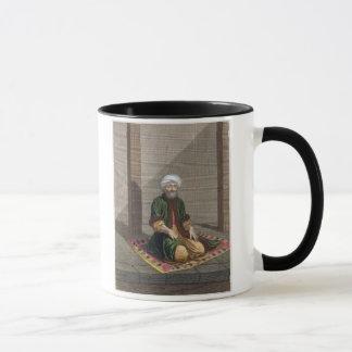 Türkischer Mann, betend, 18. Jahrhundert (Stich) Tasse