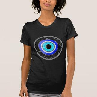 Türkischer schlechtes Augen-viel Glück-Charme - T-Shirt
