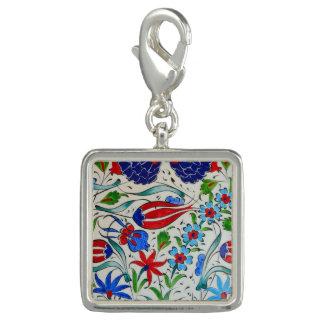 Türkisches Blumenmuster Charm