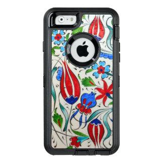 Türkisches Blumenmuster OtterBox iPhone 6/6s Hülle