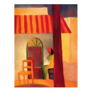 Türkisches Café bis August Macke (1914) Postkarte