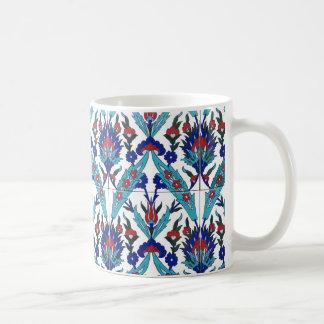 Türkisches Iznik Blumenmuster Kaffeetasse