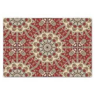 Türkisches Teppich-Kaleidoskop Seidenpapier