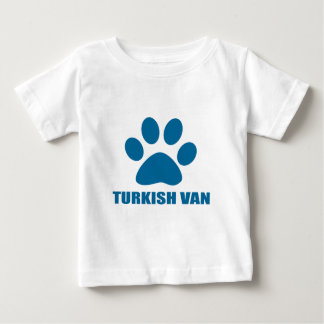 TURKISH VAN CAT DESIGNS BABY T-SHIRT