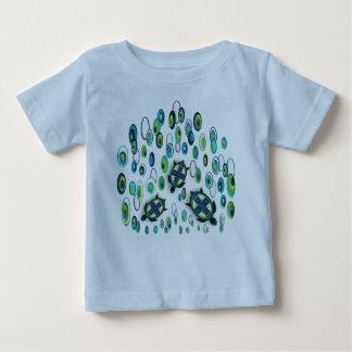 Türkisschildkröte 37 baby t-shirt