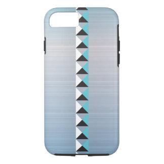 Türkiston und -Imitat bürsteten rostfreien Stahl iPhone 8/7 Hülle