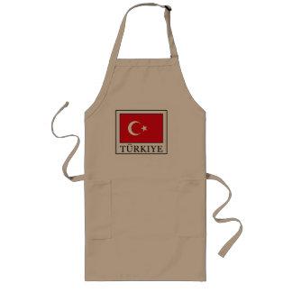 Türkiye Lange Schürze