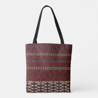 Turkmen Teppich-Muster-Tasche Tasche