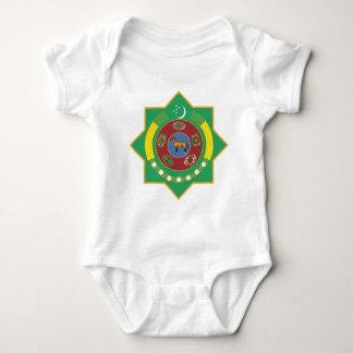 Turkmenistan-Wappen Baby Strampler
