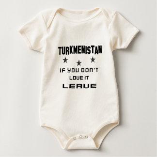 Turkmenistan, wenn Sie nicht Liebe es tun, Baby Strampler