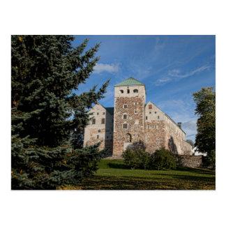 Turku, Finnland, altes Turun Linna Schloss, a Postkarte