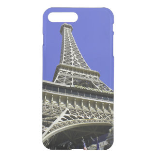 Turm-blauer Himmel Frankreich Liebe-Romance Paris iPhone 8 Plus/7 Plus Hülle