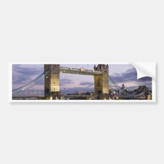 Turm-Brücke die Themse London England Autoaufkleber