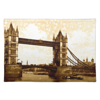 Turm-Brücke London 1900 Tischset