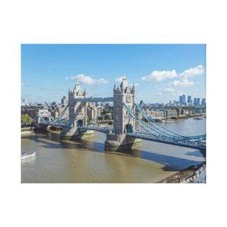 Turm-Brücke, London-Leinwanddruck Leinwanddruck
