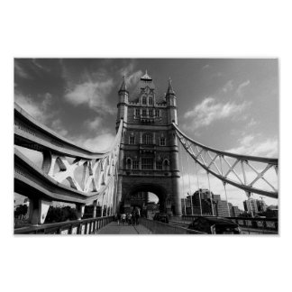 Turm-Brücke London Poster