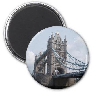 Turm-Brücke, London Runder Magnet 5,1 Cm
