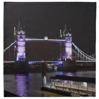 Turm-Brücke, London Serviette