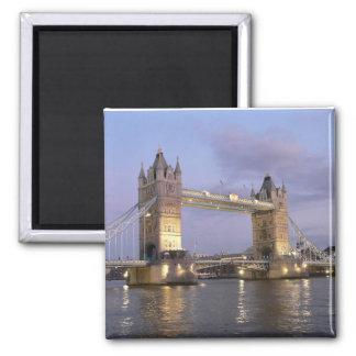 Turm-Brücke von London-Magneten Quadratischer Magnet
