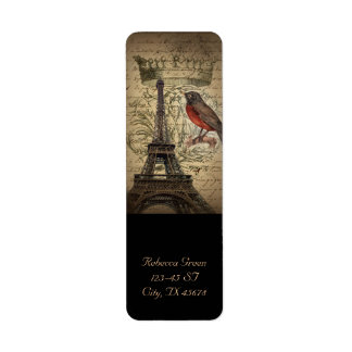 Turm Chic-französischer Vogel-moderner Vintager