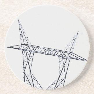 Turm des Powers Untersetzer
