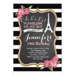 Turm-Geburtstags-Party Einladung Paris Eiffel