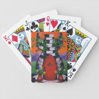 Turm-House-Spielkarten Poker Karten