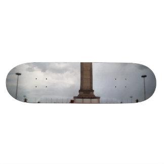 Turm in Tianmen-Quadrat in Peking Individuelle Skateboards