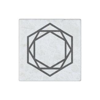 Turm (+)/Marmor-Steinmagneten, einzeln Stein-Magnet
