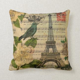 Turm Musiknotenkamelienfranzoseparis Eiffel Kissen