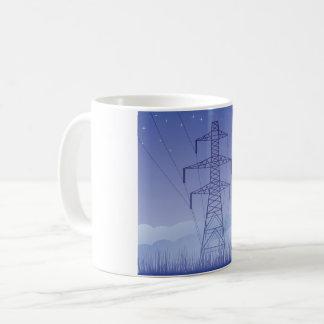 Turm-Power-Linie Tasse
