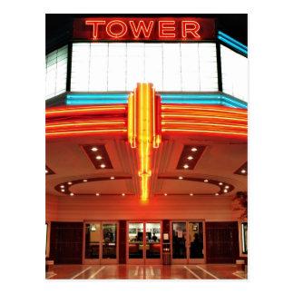 Turm-Theater, Sacramento, Kalifornien Postkarte